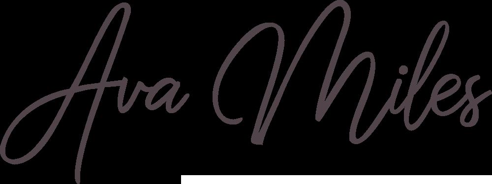 Ava Miles logotype